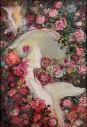 Jose Garcia Ocejo (Mexico, b. 1928)      Lady of the Roses