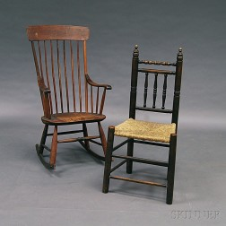 Two Country Chairs