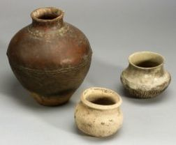 Four Pottery Vessels
