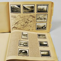 Two German Cigarette Card Albums