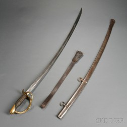 Model 1860 Cavalry Saber and Sword Knot