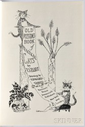 Eliot, Thomas Stearns (1888-1965) Old Possum's Book of Practical Cats  , Illustrated and Signed by Edward Gorey.