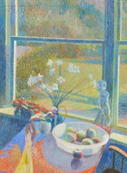 Sam Barber (American, b. 1943)      Through the Kitchen Window