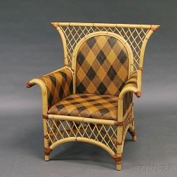 MacKenzie-Childs Bamboo Armchair