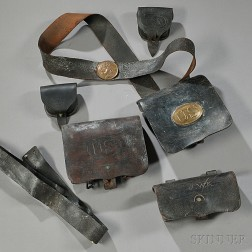 Group of Civil War-era Accoutrements