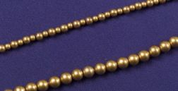 Two Antique 14kt Gold Necklaces, Riker Brothers, Carter Howe & Co.