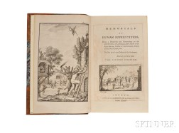 De Lolme, Jean Louis (1740-1806) Memorials of Human Superstition; Being a Paraphrase and Commentary on the Historia Flagellantium of th