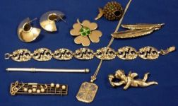 Group of Antique Jewelry and Silver