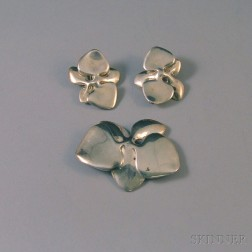 "Angela Cummings Sterling Silver ""Orchid"" Suite"