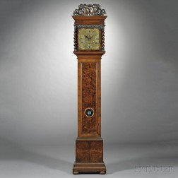 Joseph Norris Thirty-day Longcase Clock with Alarm