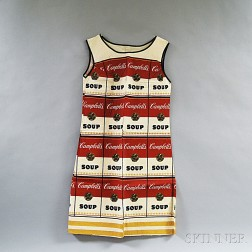 After Andy Warhol (American, 1928-1987)      The Souper Dress