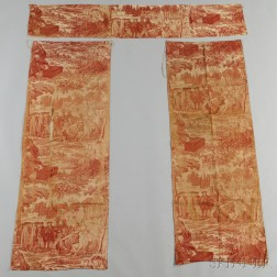 Penn's Treaty with the Indians Printed Cotton Bed Hanging
