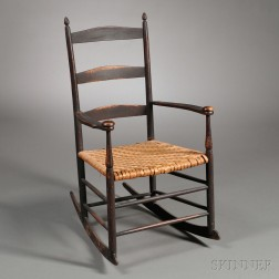 Shaker Production Armed Rocking Chair