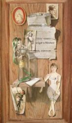 Frank Nosoff (American, 20th/21st Century)  Still Life with Victorian Paper Dolls and Photographs