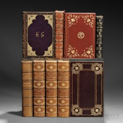 Extra-illustrated Books, Eight Volumes: