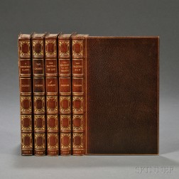 Dickens, Charles (1812-1870) Christmas Tales, Five Volumes.