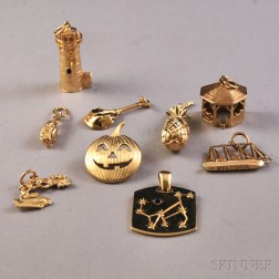 Small Group of 14kt Gold Jewelry