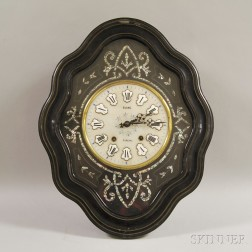 "French ""Baker's"" Wall Clock"