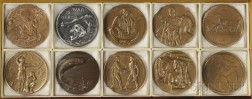 Ten Issues of Society of Medalists Medals