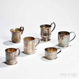Six American Silver Cups