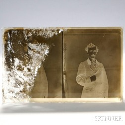 John Wilkes Booth Glass Plate Negative