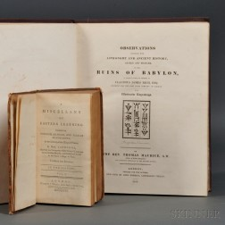 Cardonne, Denis Dominique, editor (1720-1783) A Miscellany of Eastern Learning. Translated from Turkish, Arabian, and Persian Manuscrip