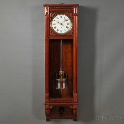 Waterbury Mahogany Wall Regulator