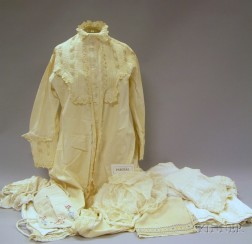 Large Group of Assorted Antique Clothing, Accessories, and Textiles