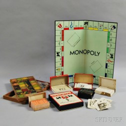 Group of Card and Board Games