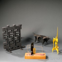 Four Abstract Sculptures