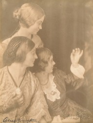 Alice Boughton (American, 1865-1943)      Three Photographs of the Fuller Sisters