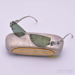 Pair of Judith Leiber Sunglasses