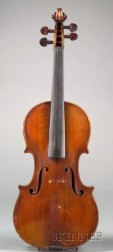 French Violin, Paul Bailly, Paris