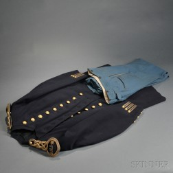 1872 Pattern Officer's Frock Coat and Trousers