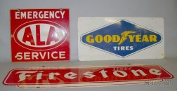 Three Auto Related Signs
