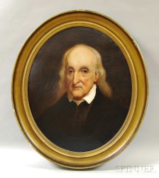 Anglo/American School, 19th Century       Portrait of a Man.