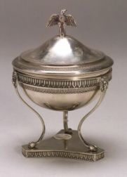 Continental .800 Silver Neoclassical-style Stand