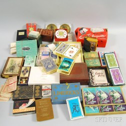 Collection of Assorted Vintage Playing Cards