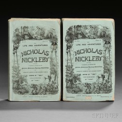 Dickens, Charles (1812-1870) The Life and Adventures of Nicholas Nickleby.