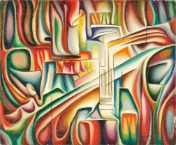Zoe (Suzi) Actypi (Greek, 1927-1996)      Architectural Abstraction