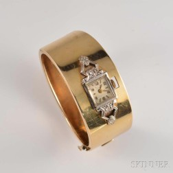 Lady's Altair 14kt Bicolor Gold and Diamond Manual-wind Wristwatch