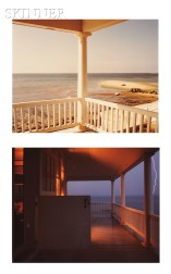Joel Meyerowitz (American, b. 1938)      Two Photographs: Porch, Provincetown