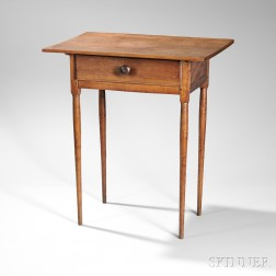Shaker One-drawer Table
