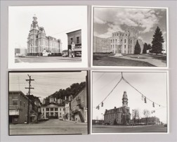 Four Photographs Depicting County Courthouses