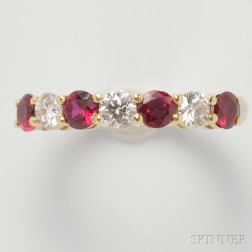 Ruby and Diamond Band, Tiffany & Co.