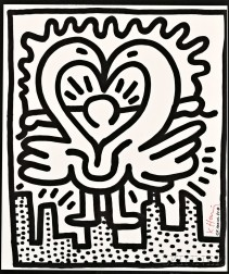 Keith Haring (American, 1958-1990)      The Kutztown Connection