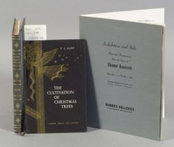 Eliot, Thomas Stearns (1888-1965), Signed copy