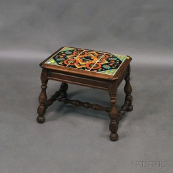 Taylor Tilery Tile-top Softwood Occasional Table