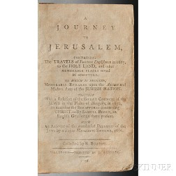 [Crouch, Nathaniel] (born c. 1632) A Journey to Jerusalem.