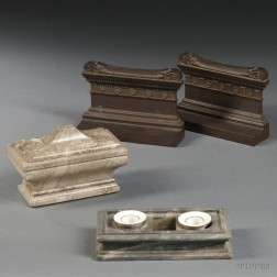 Three Desk Accessories After the Antique
